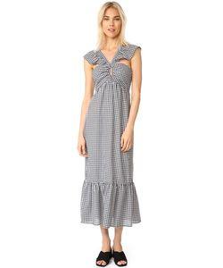 WAYF | Многоярусное Платье Bella С Оборчатыми Бретельками