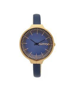 RumbaTime | Часы Orchard С Кожаным Ремешком Темно-Синего Цвета