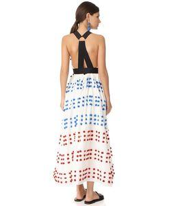 Tibi | Платье С Вышивкой И Помпонами