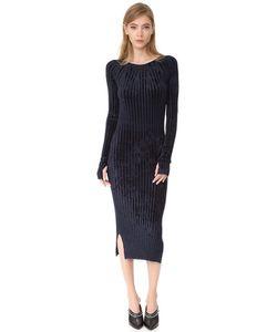 Helmut Lang | Платье Из Велюра
