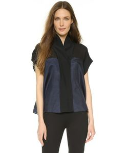 Donna Karan New York | Блуза В Стиле Кардигана С Короткими Рукавами