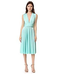 Twobirds | Tea Length Convertible Dress