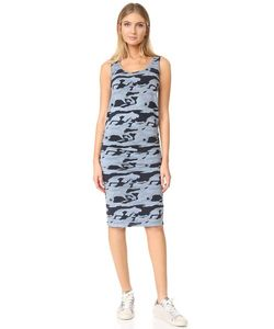 Monrow | Камуфляжное Платье Со Сборками
