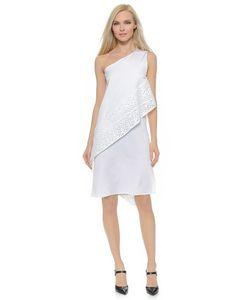 Zero + Maria Cornejo | Платье Со Спиралевидными Кружевными Вставками