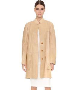 Donna Karan New York | Трапециевидное Пальто С Длинными Рукавами И Накладными Карманами
