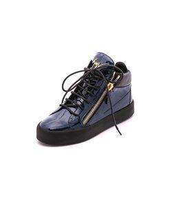 Giuseppe Zanotti Design | Кроссовки Из Лакированной Кожи