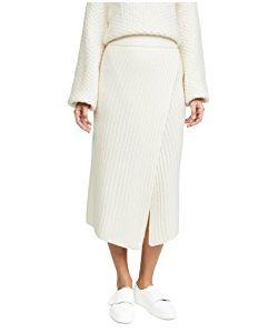 Brochu Walker | Flavie Ribbed Knit Skirt