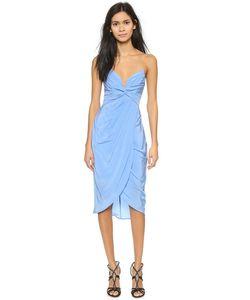 Zimmermann | Шелковое Платье Petal С Перекрученной Отделкой
