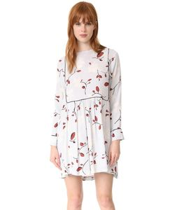 Ganni | Платье Dalton Из Крепа