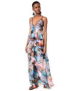 Just Cavalli   Макси-Платье Palm
