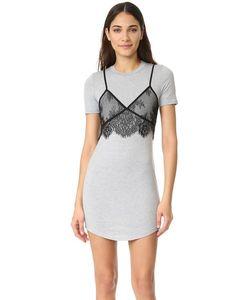 re:named | Кружевное Платье С Накладным Элементом В Виде Майки