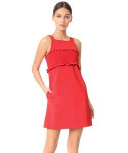 Tibi | Платье В Стиле Бандо Со Сборками