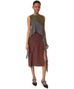 Diane Von Furstenberg | Платье Без Рукавов С Оборками
