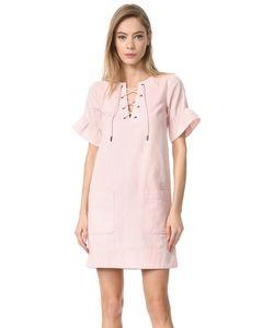 Whistles   Кружевное Платье Rosa С Завязками Спереди