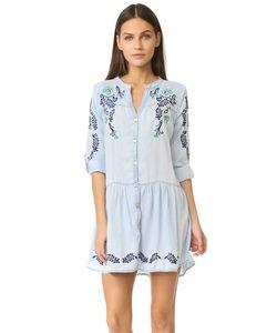 Ondademar | Короткое Платье С Вышивкой