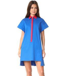 NOVIS   Платье-Рубашка Stevens С Заниженными Плечами