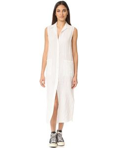 Frame | Платье-Рубашка В Мужском Стиле