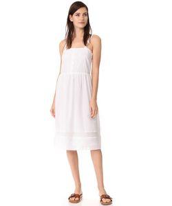 Jenni Kayne | Платье С Защипами