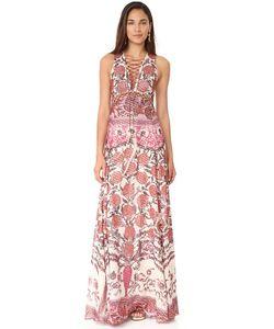 Roberto Cavalli | Оборчатое Платье