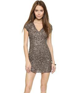 Parker | Расшитое Бисером Платье С V-Образным Вырезом