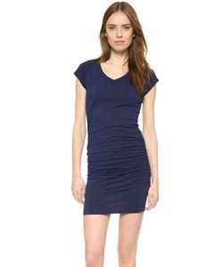 Sundry | Платье С V-Образным Вырезом И Короткими Рукавами