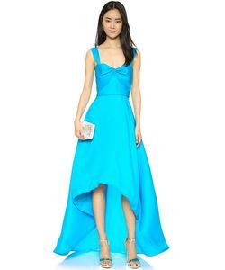 Reem Acra | Вечернее Платье Из Шелкового Газара