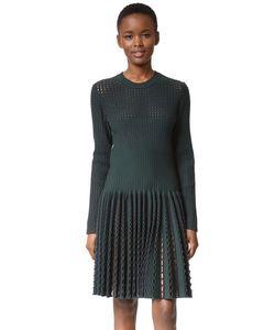 What Goes Around Comes Around | Платье С Длинными Рукавами И Прорезями Alaia Бывшее В Употреблении