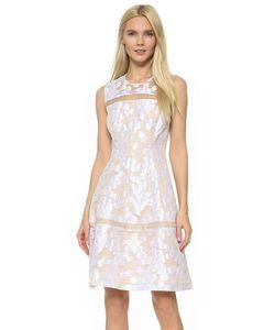 Lela Rose | Платье С Прозрачными Вставками