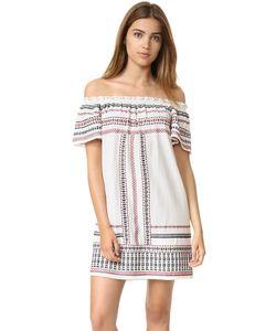 Love Sam | Платье С Открытыми Плечами И Оборчатыми Рукавами