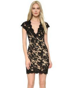 Reem Acra | Кружевное Коктейльное Платье