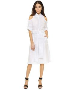 TIMO WEILAND | Платье-Рубашка Ava С Открытыми Плечами