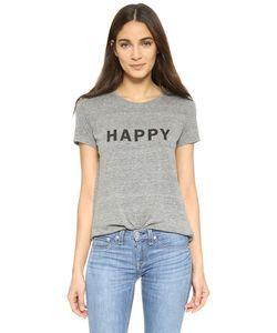 Textile Elizabeth And James | Простая Футболка Happy