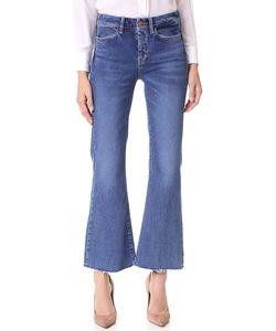 Mih Jeans | Укороченные Расклешенные Джинсы Lou