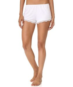 Only Hearts | Feather Weight Rib Lace Trim Sleep Shorts
