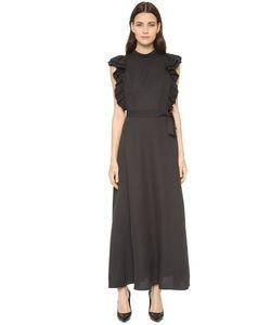 Shakuhachi | Платье С Открытой Спиной И Оборками