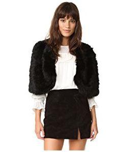 Adrienne Landau | Knit Fur Capelet