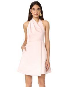 Halston Heritage | Драпированное Платье С Американской Проймой