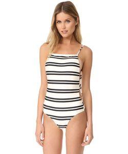 Vix Swimwear | Классический Сплошной Купальник С Глубоким Вырезом