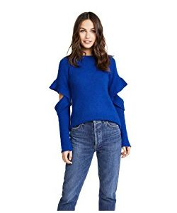 Endless Rose | Sweater With Sleeve Ruffle Detail