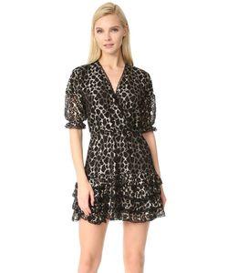 Just Cavalli | Платье С Оборками И Леопардовым Принтом