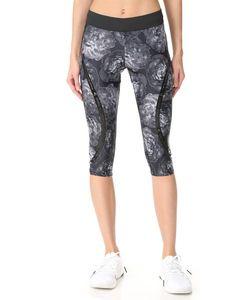Adidas By Stella  Mccartney   Леггинсы Run Climate Длиной Три Четверти