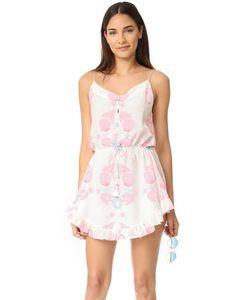 Athena Procopiou | Короткое Платье Twilights Love С Цветочным Принтом И Тонкими Бретельками