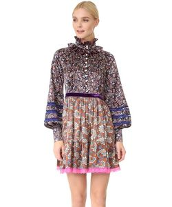 Marc Jacobs | Платье Garden С Узором Павлиний Глаз