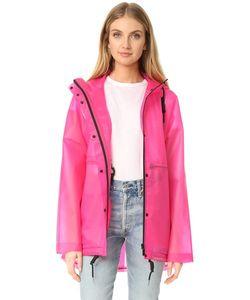 Hunter Boots | Оригинальная Виниловая Куртка С Мелкими Сборками