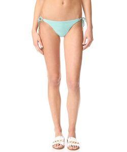 Vix Swimwear | Однотонные Плавки Бикини С Длинными Завязками