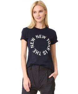 DKNY | Футболка С Округлым Вырезом И Логотипом New York