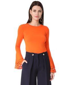 Milly | Пуловер С Расклешенными Рукавами И Вырезами