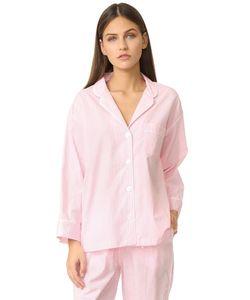Sleepy Jones | Пижамная Рубашка Marina В Мелкую Клетку Гингем