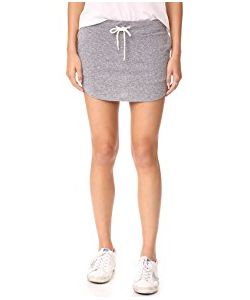 Monrow | Granite Slub Baseball Skirt