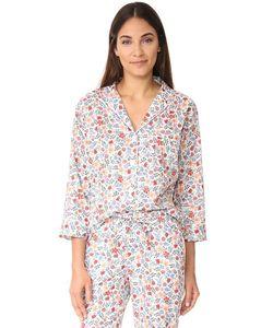 Sleepy Jones | Пижамная Рубашка Liberty Edenham Marina С Цветочным Рисунком